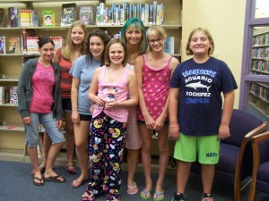 "Teens WIN the Summer Reading Challenge and Teen Librarian goes ""Aquamarine"""