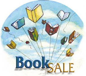 The Spring Book and Bake Sale: May 21 from 8am-3pm